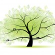 Great old tree for your design — Stock Vector #2660525