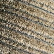 Brown thick cloth fabric — Stock Photo