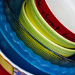 Stock Photo: Some plates