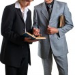 Royalty-Free Stock Photo: Two young businessmen