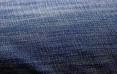 Blue thick cloth fabric — Stock Photo