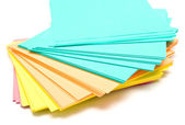Pile of a pure paper for notes — Stock Photo