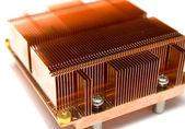 Радиатор охлаждения компьютера — Стоковое фото