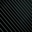 Metal lattice on a black — Stock Photo