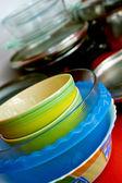 Some plates — Stock Photo