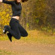 Jumping girl 2 — Stock Photo #1369405