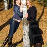 Two girlfriends — Stock Photo #1371065