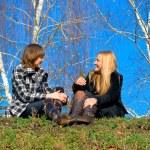 Two girlfriends — Stock Photo #1371115