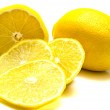 Stock Photo: Ripe juicy lemons 2