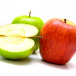 Red and green apples 3 — Stock Photo #1377827