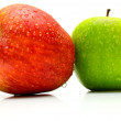 Red and green apples 3 — Stock Photo #1378422