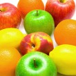 Allsorts from several fruits — Stock Photo #1378552