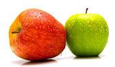 Rode en groene appels 2 — Stockfoto