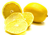 Olgun sulu limon 2 — Stok fotoğraf