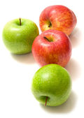 красные и зеленые яблоки 2 — Стоковое фото