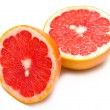 Fresh red grapefruit — Stock Photo