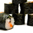 Stock Photo: Sushi nori on a white