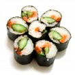 Japanese sushi rolls — Stock Photo #1575907