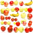 Royalty-Free Stock Photo: Collage from fruits and vegetables