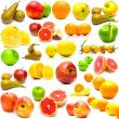 Fruits on white 3 - Stock Photo