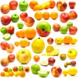 Fruits on white — Stock Photo