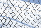Metal lattice — Stock Photo