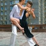 Latino dance — Stock Photo #1600286