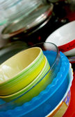 Alcuni piatti — Foto Stock