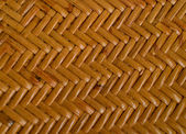 Texture of a wattled basket — Stock Photo