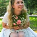 Happy bride — Stock Photo #1610248