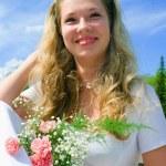 Happy bride — Stock Photo #1612914