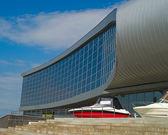 Modern building of hippodrome — Stock Photo