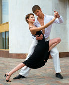 Danse de couple — Photo