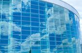 Blue windows — Stock Photo
