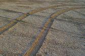 Traces de roues — Photo