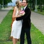 Bride and groom — Stock Photo #2128858