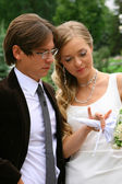 Bride and groom 2 — Stock Photo