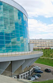 Building of Congress-hall in Ufa — Stock Photo