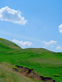 Hills of the Ural mountains — Stockfoto