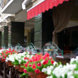 Outside terrace of restaurant — Stock Photo #2196412