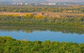 River Belaya — Stock Photo