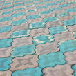 Sidewalk pattern — Stock Photo