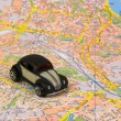 The map — Stock Photo #1055671