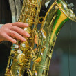 Saxophonist — Stock Photo #1058050