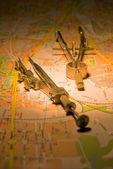 地図 — ストック写真