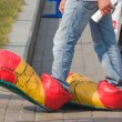 Stok fotoğraf: Clown shoes