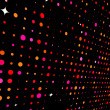 Disco lights - Foto Stock