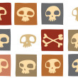 Funny skulls — Stock Photo #1088038