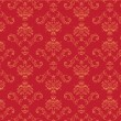 Victorian  wallpaper Pattern — Stock Photo