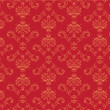 Victorian  wallpaper Pattern - Stock Photo